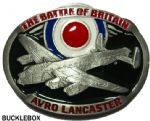 Avro Lancaster Bomber Battle of Britain Belt Buckle + display stand. Code AM4